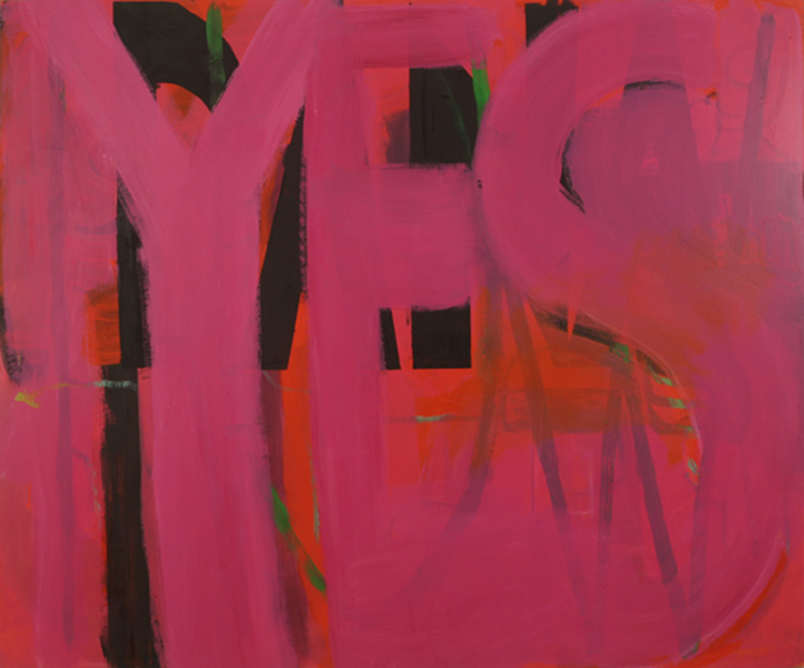 YES - YES - 2005 - Oil on panel - 60 x 72 inches