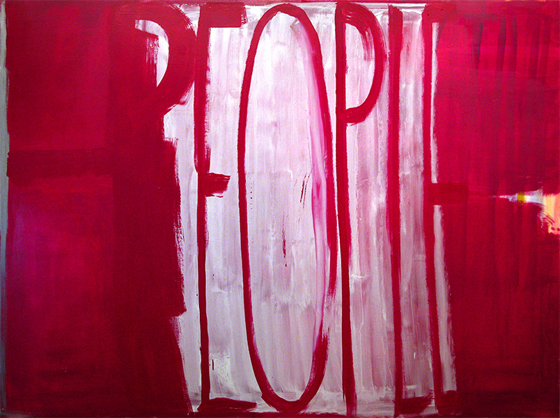 PEOPLE - PEOPLE - 2010 - Oil on panel
